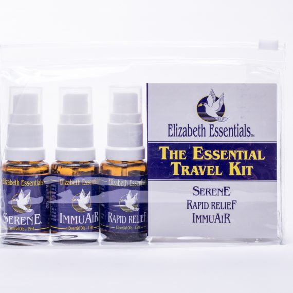 Elizabeth Essentials - Essential Oil Formulas - Travel Kit