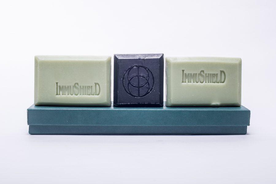 Elizabeth Essentials - Essential Oil Formulas - Immushield Soap Box